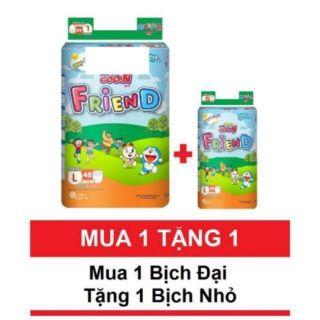 ( Tặng gói 5 miếng ) Bỉm quần Goon friend M58 L48 XL42 XXL34