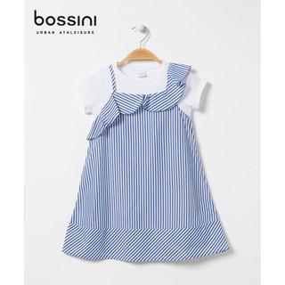 Đầm bé gái kẻ sọc Bossini 441911050