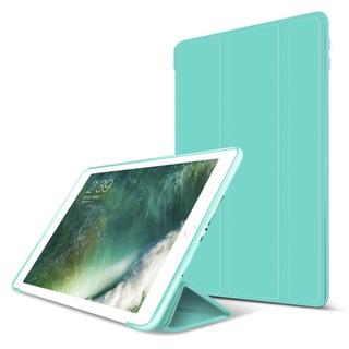 Bao da silicone dẻo – Smart cover dành cho iPad Mini123/ Mini 4/ Air/ Air 2/ New 2017/ Pro 9.7/ 234/ Pro 10.5