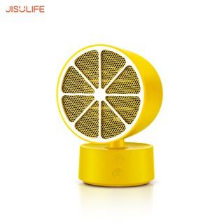 Quạt sưởi mini để bàn điều chỉnh nhiệt Jisulife NF1_Sưởi ấm toàn diện, Tự động ngắt điện an toàn_BH chính hãng