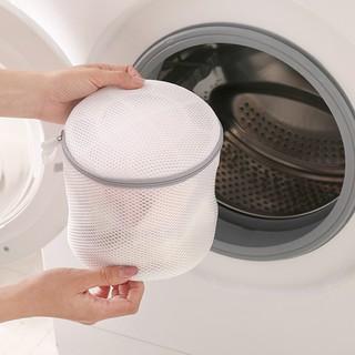Túi lưới giặt đồ 2 lớp Polyester Chammart dạng lưới mịn giặt đồ nhỏ đồ lót chống biến dạng quần áo cho máy giặt Chammart
