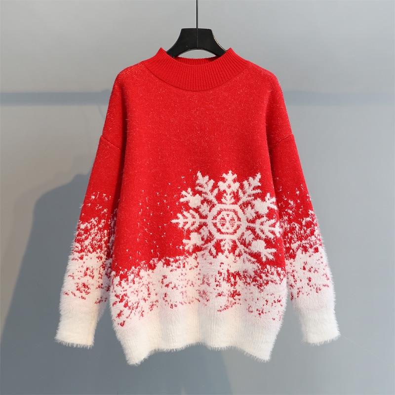 Áo Sweater Nữ Dày In Hoạ Tiết Giáng Sinh - 22650163 , 4910100611 , 322_4910100611 , 206900 , Ao-Sweater-Nu-Day-In-Hoa-Tiet-Giang-Sinh-322_4910100611 , shopee.vn , Áo Sweater Nữ Dày In Hoạ Tiết Giáng Sinh