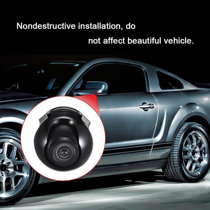 Camera cạp lề gắn gương chiếu hậu ô tô YSJ-0176( Màu đen)