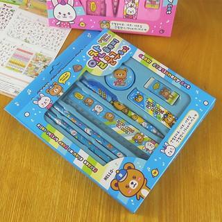 Bộ 7 dụng cụ học tập dễ thương cho bé
