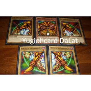Thẻ bài yugioh chính hãng Set 5 lá Exodia LDK2 – Common