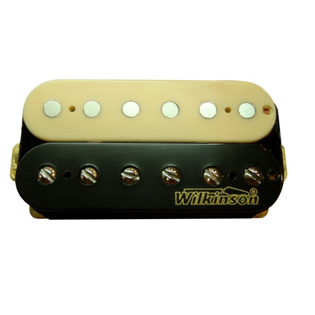 Musical Instrument WIlkinson คอนแท็ค กีตาร์ ไฟฟ้าคู่ LP MWHZ-Bridge IV (Black)usical Instrument WIlkinson คอนแท็ค กีตาร์