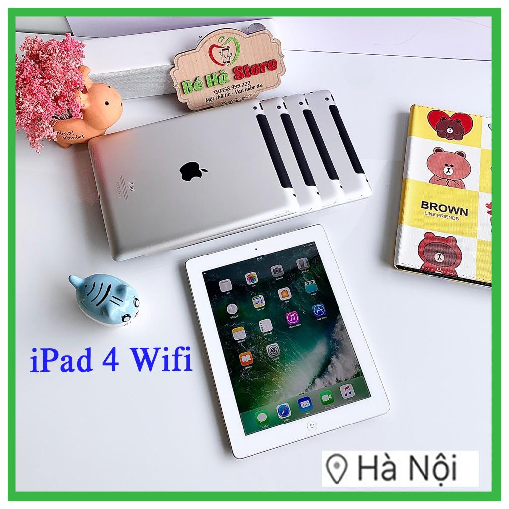 Máy Tính Bảng iPad 4 - 16/32/64Gb (Bản Wifi) chính hãng Apple - Zin Đẹp 99%