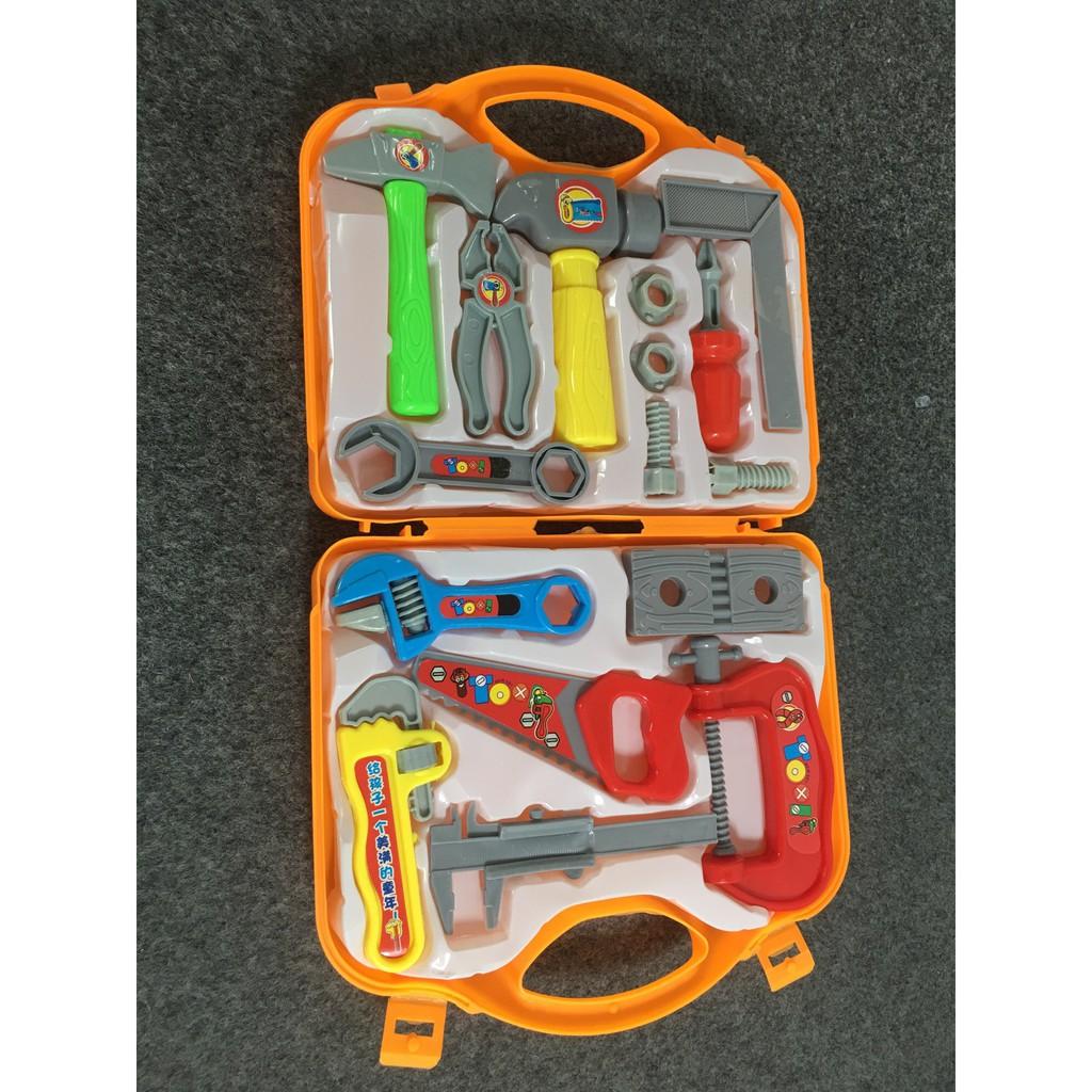 Đồ chơi bộ dụng cụ sửa chữa 15 chi tiết cho bé Jika store