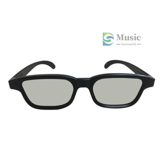 〖MUSIC〗G90 Passive 3D Glasses Polarized Lenses for Cinema Lightweight Portable for Watching Movies