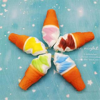 Decompression Toy Slow Rebound Simulation Torch Cone Fun Ice Cream 998
