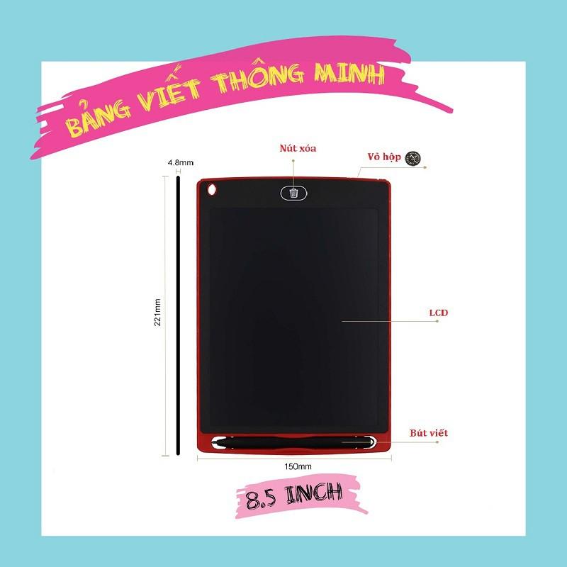 Bảng viết thông minh LCD tự xóa 8.5 inch cho bé tập vẽ, viết - 3190248 , 1296041439 , 322_1296041439 , 169000 , Bang-viet-thong-minh-LCD-tu-xoa-8.5-inch-cho-be-tap-ve-viet-322_1296041439 , shopee.vn , Bảng viết thông minh LCD tự xóa 8.5 inch cho bé tập vẽ, viết