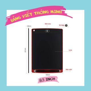 [Nhập TOYAPR10K giảm ngay 10K]Bảng viết thông minh LCD tự xóa 8.5 inch cho bé tập vẽ, viết