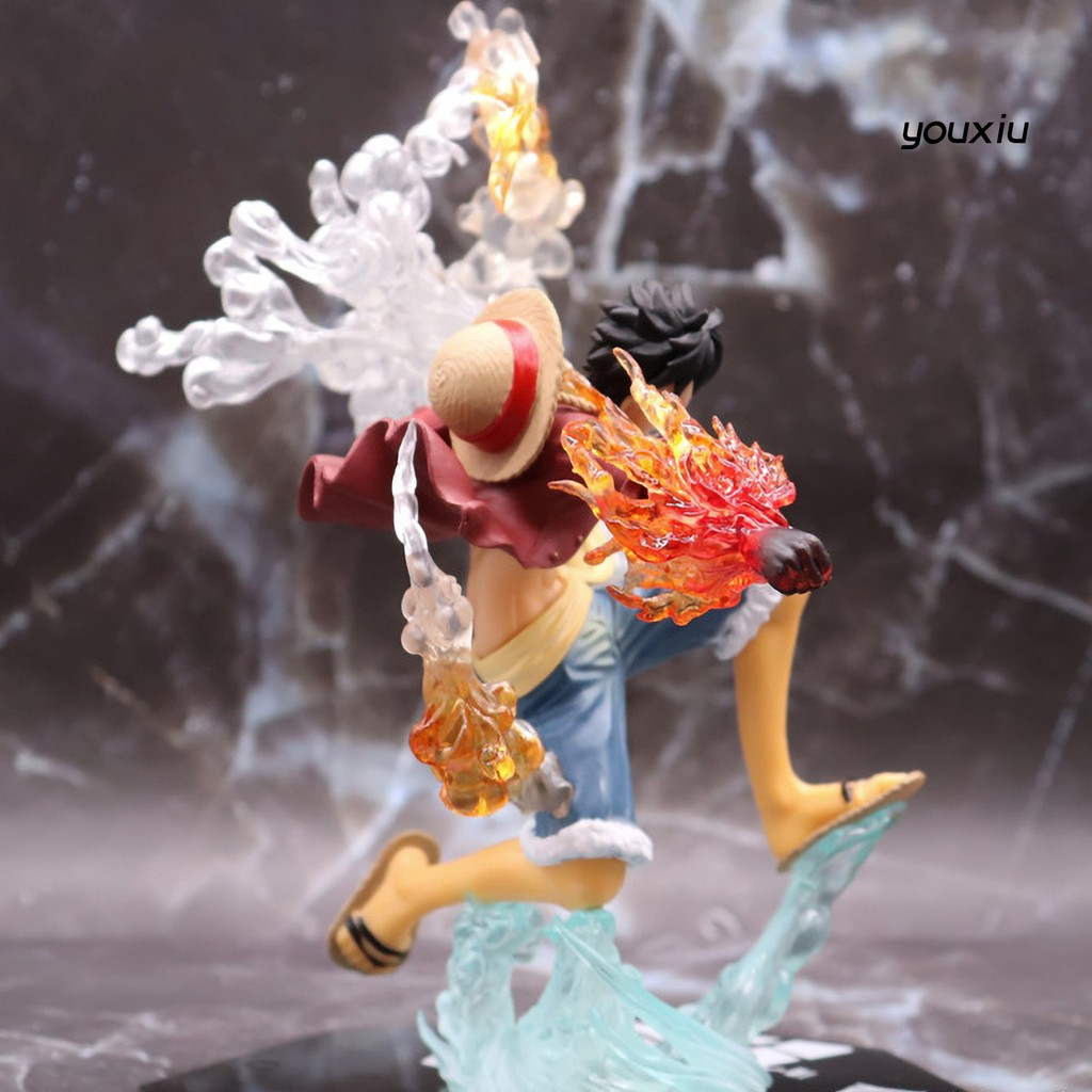 YOU-d One Piece Design Doll Model Luffy Shape Cute Miniature Toy Decoration Mold for Indoor
