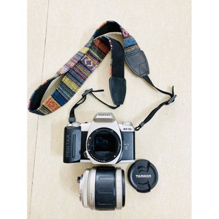 Máy ảnh film Pentax MZ-50 + lens Tamron for Pentax 28-80