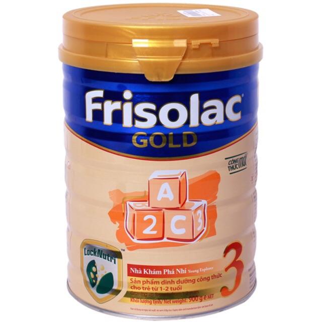 sữa frisolac gold 3 hộp 900g date 2020