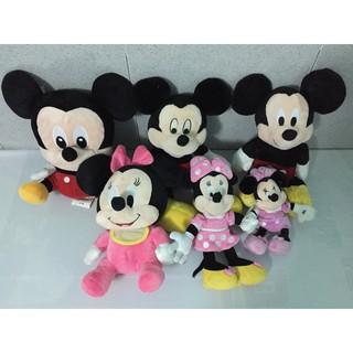Gấu bông # Thú nhồi bông # Set chuột 6 Mickey baby.