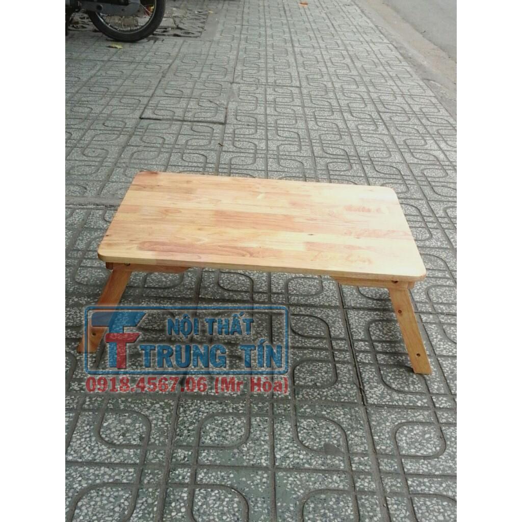 bàn xếp gỗ cây, 50x70cm màu Tự Nhiên