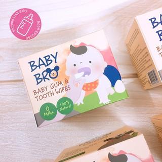 Ảnh Thật [Date 7 2022] Hộp 25 khăn lau răng miệng rơ lưỡi Hàn Quốc Baby Bro Dành Cho Bé Babybro thumbnail
