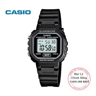 Đồng hồ điện tử nữ Casio LA-20WH-1ADF dây nhựa cỡ nhỏ thumbnail
