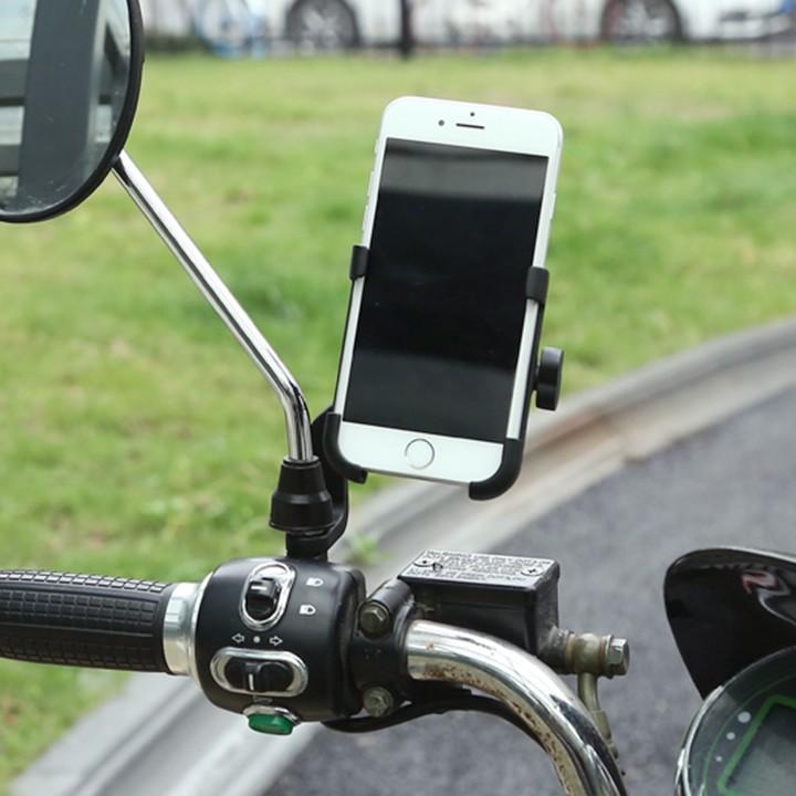 CHÍNH HÃNG Giá đỡ kẹp điện thoại cho xe máy C2