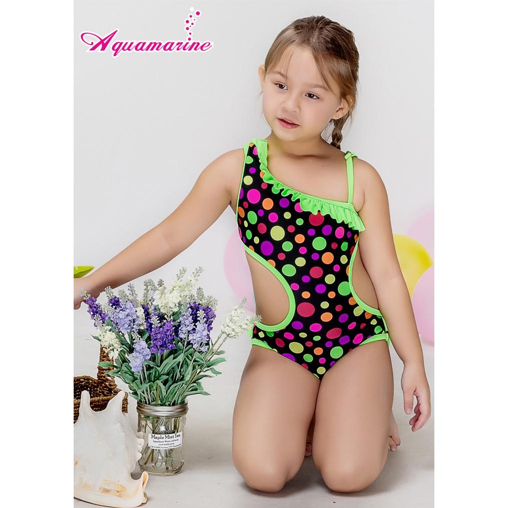 Bộ đồ bơi bé gái, trẻ em kèm nón - Áo tắm Xuân Thu