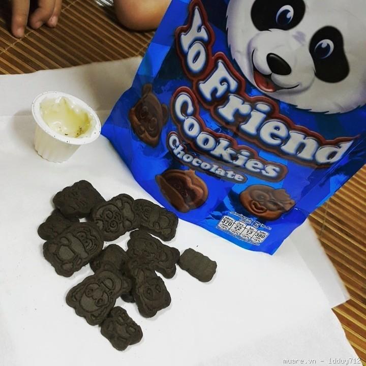 Bánh quy giòn hình chú gấu 13g Thái Lan