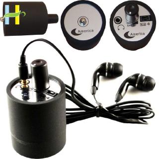 Ear listen Through Wall Device SPY Bug Eavesdropping Wall Microphone