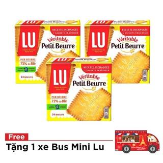 "[Tặng 1 bus tin] Combo 3 hộp bánh Lu Veritable Petit Beurre 200g giá chỉ còn <strong class=""price"">15.500.000.000đ</strong>"