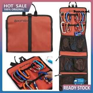 HHW_Portable Waterproof Climbing Mountaineering Tools Rope Carabiner Storage Bag
