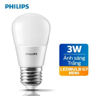 Bóng đèn Philips LED 3W E27 P45 - Ánh sáng trắng Ánh sáng vàng thumbnail