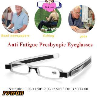 ROW Portable Fashion Eyeglasses Presbyopic Unisex Reading Glasses