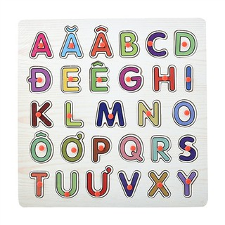Bảng chữ cái tiếng Việt, có núm