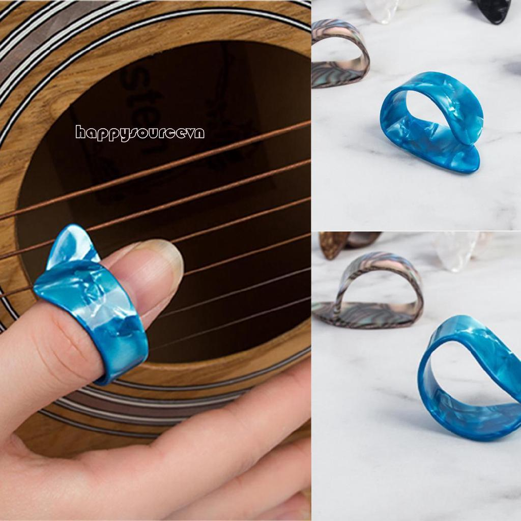 ha Finger Guitar Pick Celluloid Mediator Phụ kiện Guitar