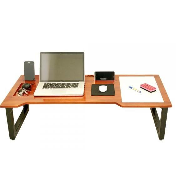 ND68003 - Bàn ghi chú NoteDesk ngồi bệt màu cánh gián (1,2m x 60cm x 35cm )