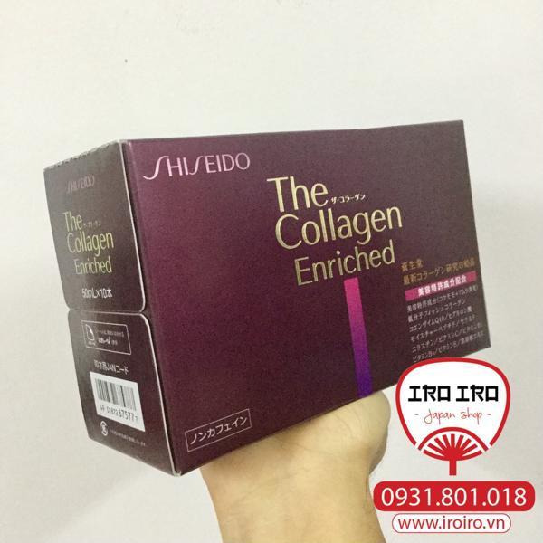Collagen Shiseido Enriched dạng nước cho độ tuổi 30+
