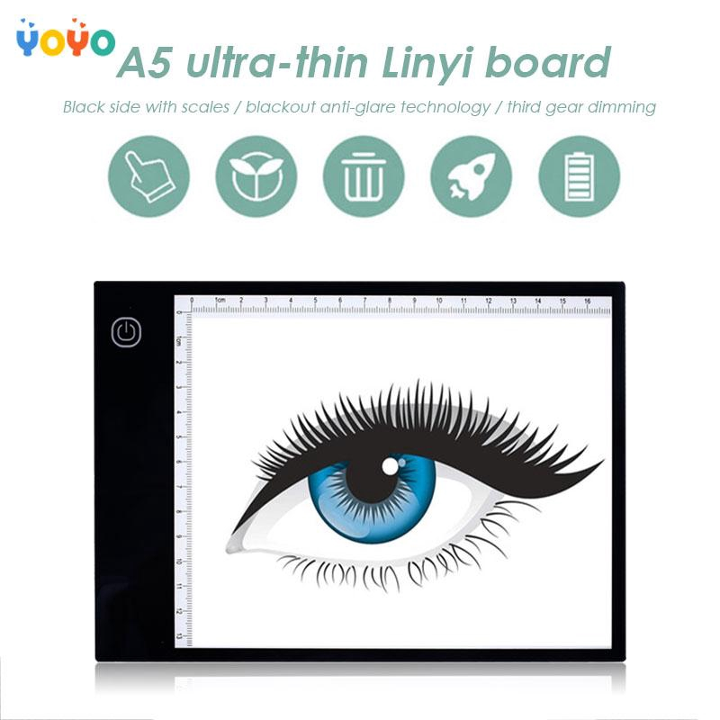 COD! Tracing Board Ultra-Thin Sketching 5D DIY Diamond with Scale Drawing Tablet Artists