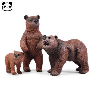Kids Static State Simulate Bear Shape Modeling Toy Home Tabletop Decoration