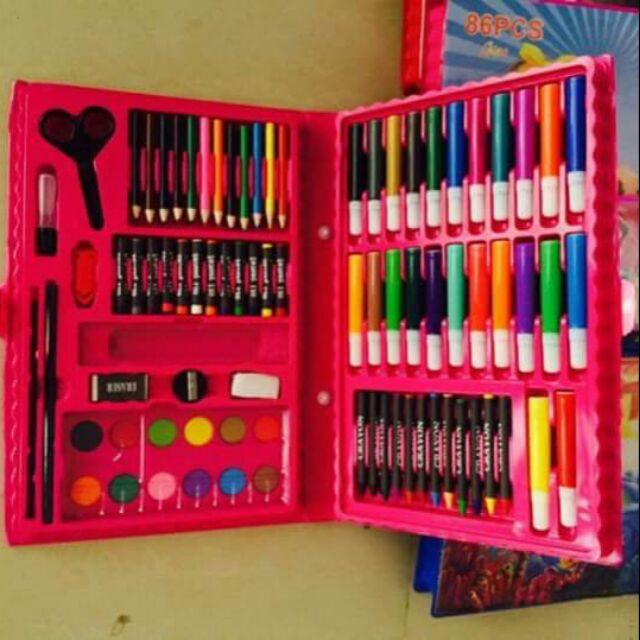 Bộ bút chì màu 86 chi tiết cho bé yêu