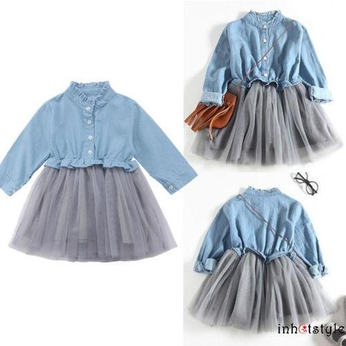 Váy Xòe Xếp Tầng Xinh Xắn Cho Bé Gái