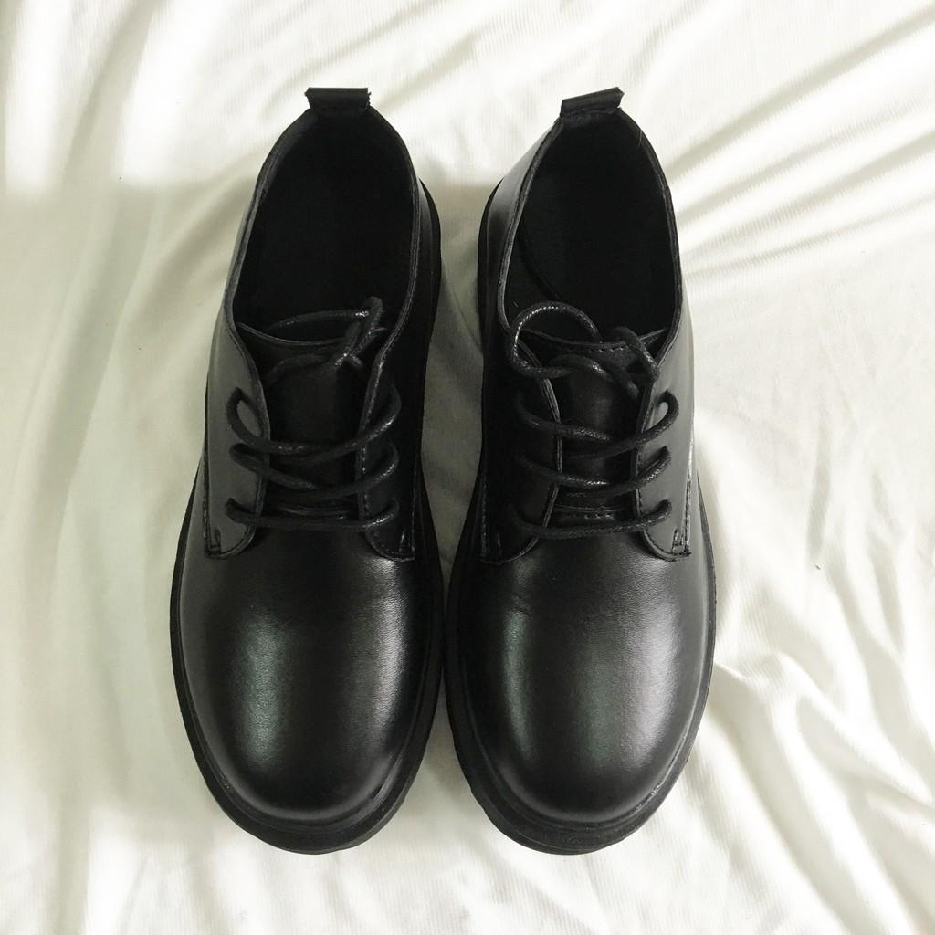 ( Giảm giá) Giày da nam, giày da bóng thời trang cao cấp phong cách Hàn Quốc