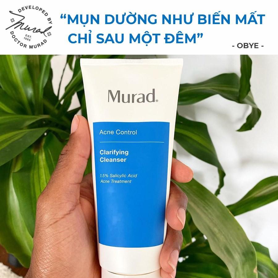 [GIÁ SỐC - BAO BÌ MỚI] Sữa Rửa Mặt Cải Thiện Da Và Xóa Mụn, Kiểm Soát Dầu Murad Clarifying Cleanser Acne