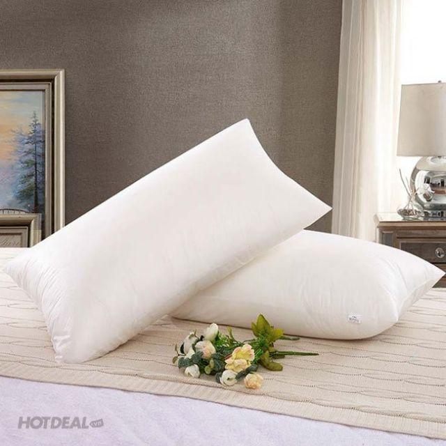 Ruột gối ngủ ép hơi 100%gòn 50×70 giá rẻ bất ngờ