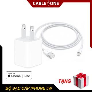 Bộ Sạc iPhone, iPad Công Suất 5W Chính Hãng Zin Bảo Hành 12 tháng