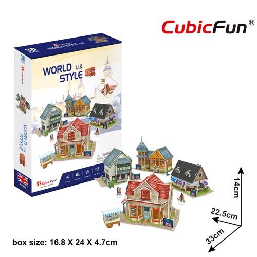 Mô hình giấy 3D CubicFun – UK Style W3186h