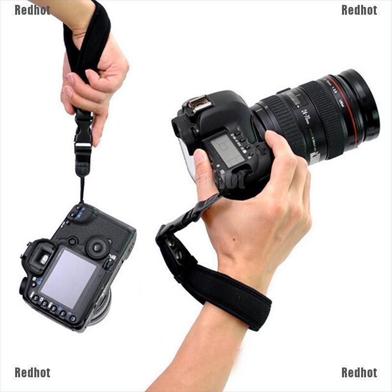 Redhot Camera Hand Grip For Canon EOS Nikon Sony Olympus SLR/DSLR Cloth Wrist Strap
