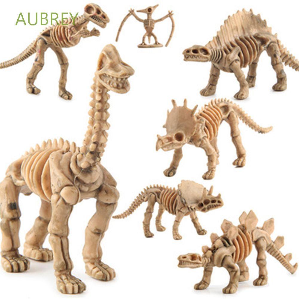 AUBREY Cute Model Toy Mini Figurines Dinosaurs Skeleton Action Party Creative Simulation Home Decor Model Set Miniatures