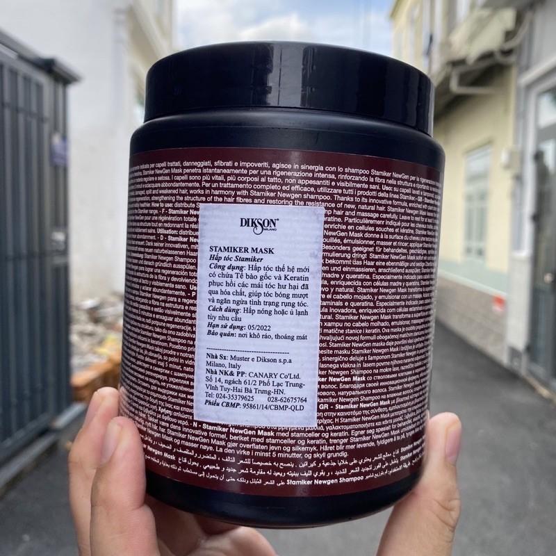 Dầu hấp chống rụng, trị gàu cân bằng dầu DIKSON STAMIKER Mask 1000ml