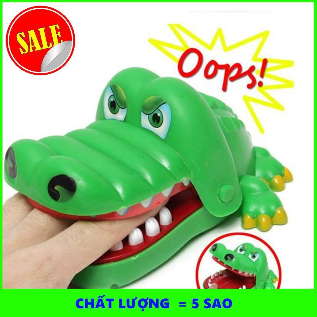 (GIÁ HỦY DIỆT) Bộ trò chơi cá sấu cắn tay