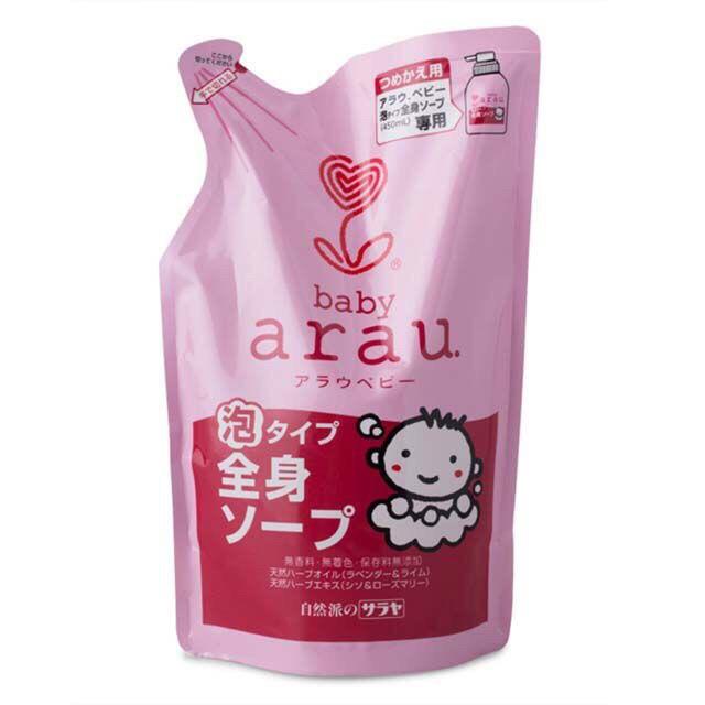 Sữa tắm arau baby túi 400ml
