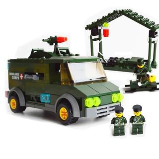 Xe Cứu Thương Quân Đội Kazi 6032 Đồ Chơi Lắp Ráp